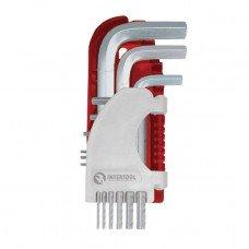 Набір Г-образних шестигранних ключів 9 шт., 1,5-10 мм, S2, PROF INTERTOOL HT-1803