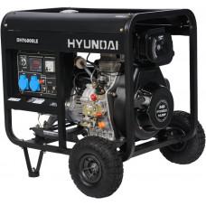 Дизельний генератор Hyundai DHY 6000LE + колеса HYUNDAI (DHY 6000 LE)