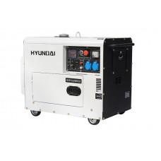 Дизельний генератор Hyundai DHY 6000 SE + колеса HYUNDAI