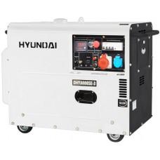 Дизельний генератор Hyundai DHY 6000 SE-3 + колеса HYUNDAI