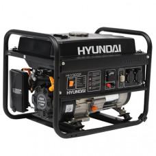 Генератор бензиновий Hyundai HHY 3000 F + лічильник мотогодин HYUNDAI