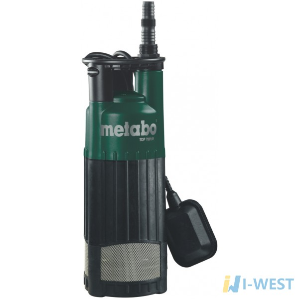 Напорный погружной насос Metabo TDP 7501 S (0250750100)