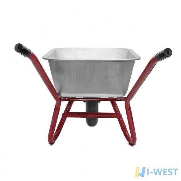 Тачка садово-строительная усиленная грузоподъемность 200 кг объем 90 л Palisad 68918