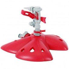 Дождеватель пульсирующий с полной/частичной зоной полива на базе, круг/сектор полива до 12 м, PP, ABS INTERTOOL GE-0071