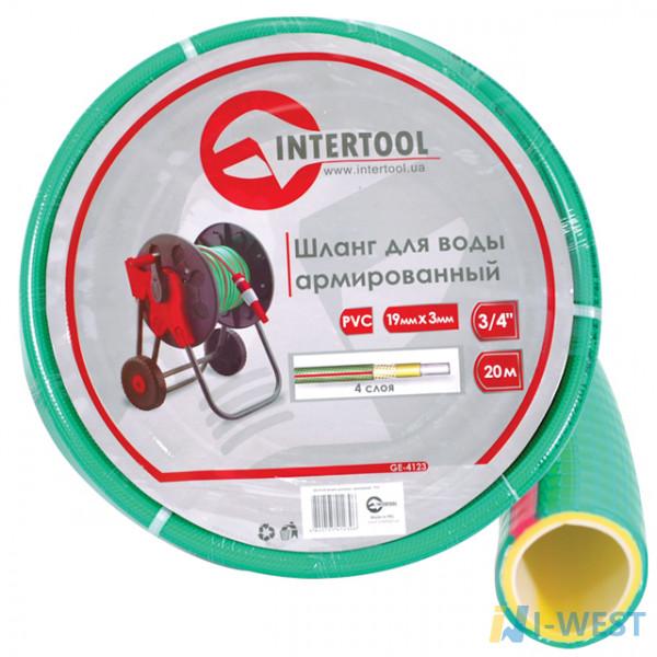 Шланг для води 4-х шаровий 1/2 INTERTOOL (GE-4103)