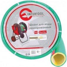 Шланг для воды 4-х слойный 3/4 INTERTOOL (GE-4121)