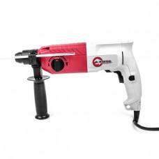 Перфоратор SDS-plus 650 Вт, 0-870 об/хв, 0-4400 удар/хв, 3 режими, реверс INTERTOOL DT-0181