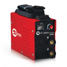 Зварювальний інвертор 230 В, 30-200 А, 7,1 кВт INTERTOOL DT-4120
