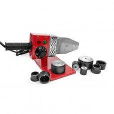 Паяльник для труб з PPR 20-63 мм, 800 Вт, 0-300°С, 230 В INTERTOOL RT-2102