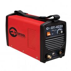 Зварювальний інвертор для аргоно-дугового зварювання 230В, 4.5 кВт, 10-200А INTERTOOL DT-4220