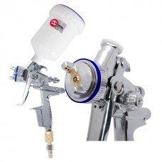 HVLP II Професійний фарборозпилювач 1,3 мм, верхній пластиковий бачок 600 мл INTERTOOL PT-0105