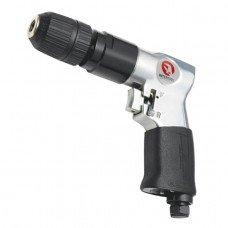 Дриль пневматична з реверсом патрон самозажимних 1,5-10 мм, 3/8 INTERTOOL (PT-0903)