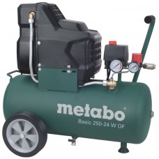 Безмасляний компресор Metabo Basic 250-24 W OF (0230140000)