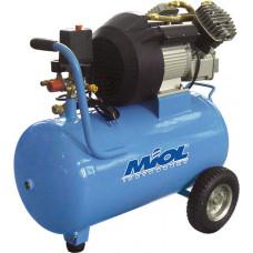 Компрессор масляный двухцилиндровый Ураган + фильтр и ремкомплект Miol 81-180 MIOL