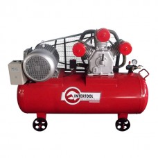 Компрессор 300 л, 15 HP, 11 кВт, 380 В, 8 атм, 1600 л/мин. 3 цилиндра INTERTOOL PT-0050
