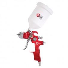 HVLP RED PROF Фарборозпилювач 1,4 мм, верхній пластиковий бачок 600 мл INTERTOOL PT-0104