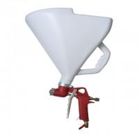 Штукатурний розпилювач, три форсунки 4;6;8 мм, В/Б пластмасовий, 9000 мл, 3-6 b INTERTOOL PT-0403