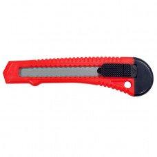 Нож прорезной с отломным лезвием 18 мм INTERTOOL HT-0500