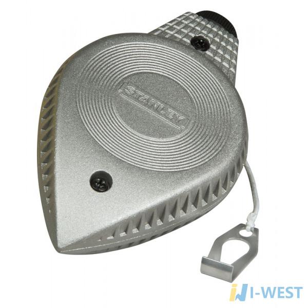 Шнур разметочный в металлическом корпусе STANLEY 0-47-100