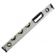 Рівень спеціальний 800 мм, 5 вічок INTERTOOL МТ-1008 (MT-1008)