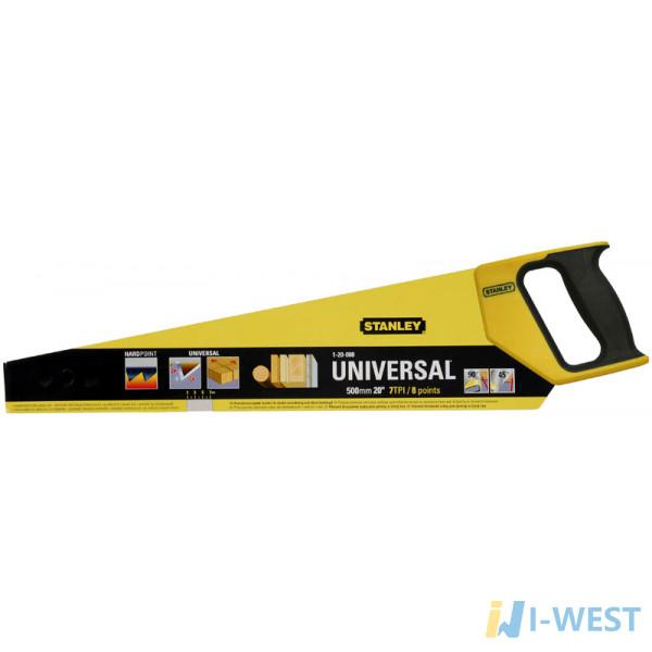 Ножовка универсальная с закаленным зубом STANLEY 1-20-008