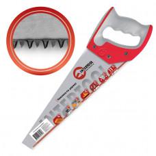 Ножовка по дереву 450 мм с каленым зубом, 3-ая заточка 11 зуб.x1 INTERTOOL (HT-3162)