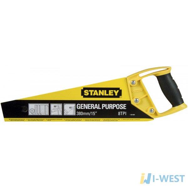 """Ножовка """"OPP"""" с закаленными зубьями STANLEY 1-20-084"""