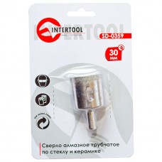 Коронка трубчаста по склу та кераміці 30 мм INTERTOOL SD-0359