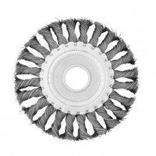 Щетка кольцевая 180x22,2 мм (пучки витой проволоки) INTERTOOL BT-7180