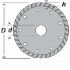 Диск алмазный универсальный DWT DP-TU180