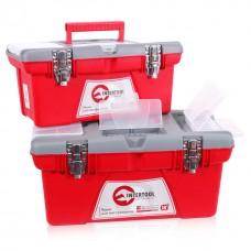 Комплект ящиков для инструмента с металлическим замком 2шт INTERTOOL BX-0502