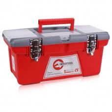 Ящик для инструментов с металлическими замками, 16 INTERTOOL (BX-0516)