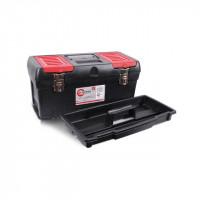 Ящик для инструментов с металлическими замками, 19 INTERTOOL (BX-1019)