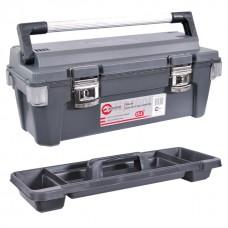 Ящик для инструмента с металлическими замками 25,5 INTERTOOL (BX-6025)