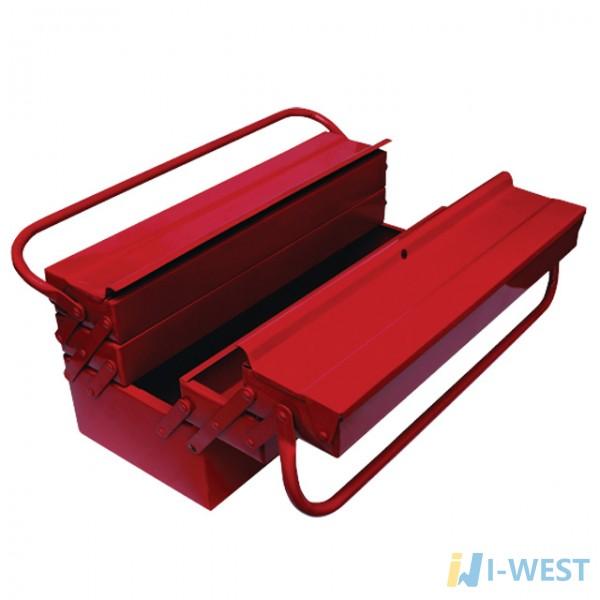 Скринька для інструментів металевий 450 мм, 7 секцій INTERTOOL HT-5047