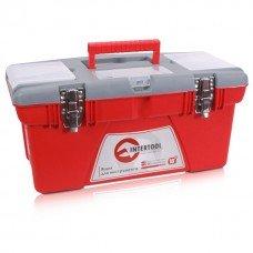 Ящик для инструментов с металлическими замками, 18 INTERTOOL (BX-0518)