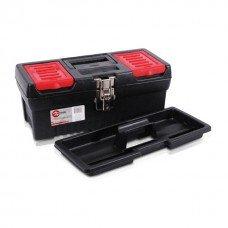 Ящик для инструментов с металлическими замками, 13 INTERTOOL (BX-1013)