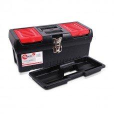 Ящик для инструментов с металлическими замками, 16 INTERTOOL (BX-1016)