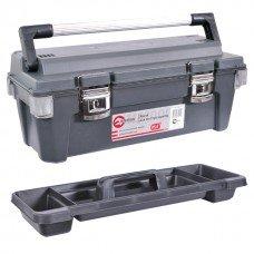 Скринька для інструментів з металевими замками 25,5 INTERTOOL (BX-6025)